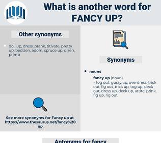 fancy up, synonym fancy up, another word for fancy up, words like fancy up, thesaurus fancy up