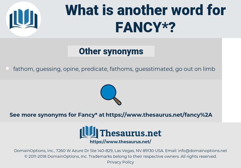 fancy, synonym fancy, another word for fancy, words like fancy, thesaurus fancy