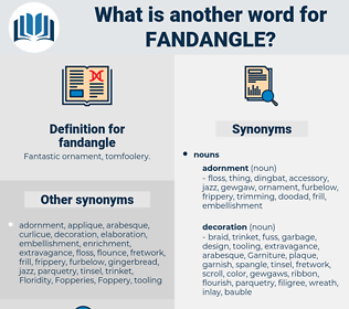 fandangle, synonym fandangle, another word for fandangle, words like fandangle, thesaurus fandangle