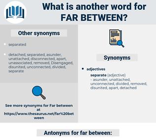 far between, synonym far between, another word for far between, words like far between, thesaurus far between