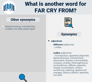 far cry from, synonym far cry from, another word for far cry from, words like far cry from, thesaurus far cry from