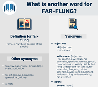 far-flung, synonym far-flung, another word for far-flung, words like far-flung, thesaurus far-flung