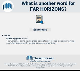 far horizons, synonym far horizons, another word for far horizons, words like far horizons, thesaurus far horizons