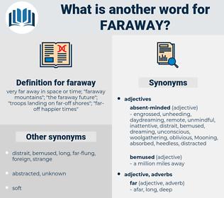 faraway, synonym faraway, another word for faraway, words like faraway, thesaurus faraway
