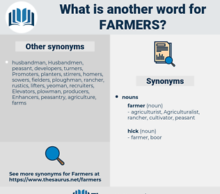 farmers, synonym farmers, another word for farmers, words like farmers, thesaurus farmers
