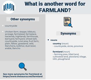 farmland, synonym farmland, another word for farmland, words like farmland, thesaurus farmland