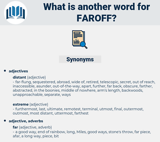 faroff, synonym faroff, another word for faroff, words like faroff, thesaurus faroff