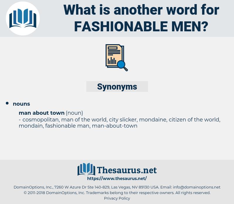 fashionable men, synonym fashionable men, another word for fashionable men, words like fashionable men, thesaurus fashionable men