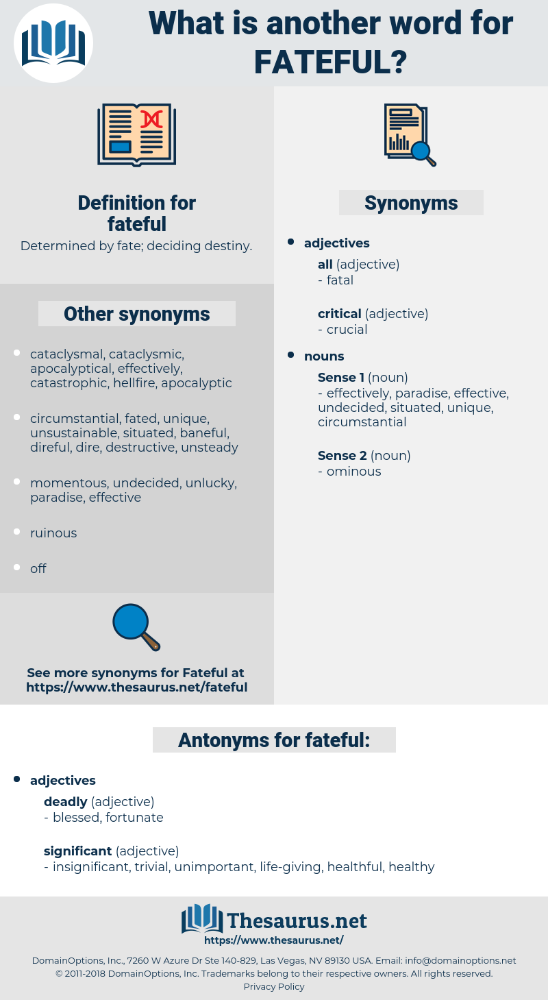 fateful, synonym fateful, another word for fateful, words like fateful, thesaurus fateful