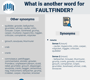 faultfinder, synonym faultfinder, another word for faultfinder, words like faultfinder, thesaurus faultfinder