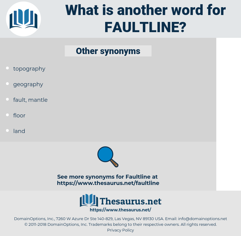 faultline, synonym faultline, another word for faultline, words like faultline, thesaurus faultline