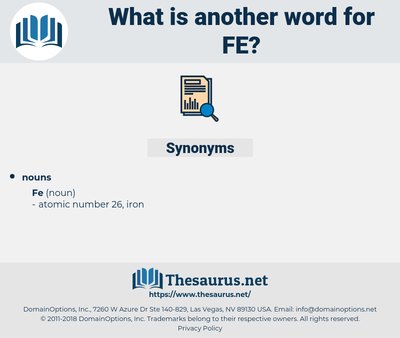 fe, synonym fe, another word for fe, words like fe, thesaurus fe