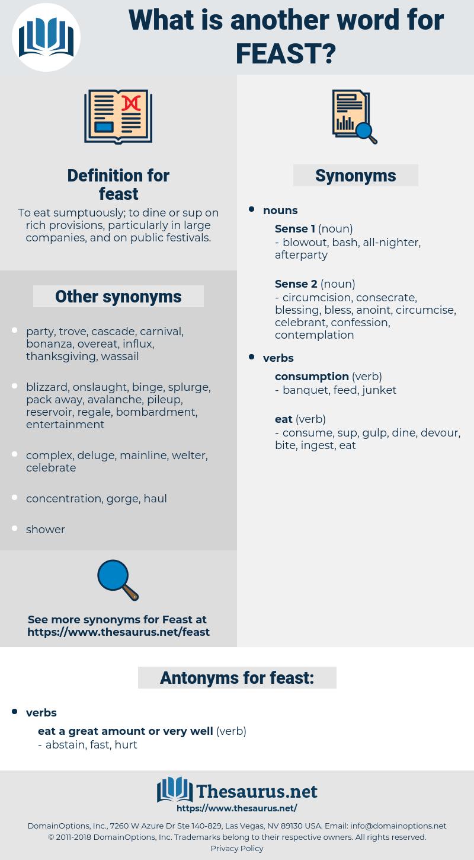 feast, synonym feast, another word for feast, words like feast, thesaurus feast