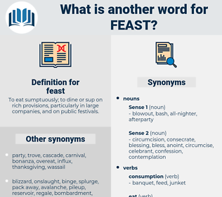 feast, synonym feast, another word for feast, words like feast, thesaurus feast