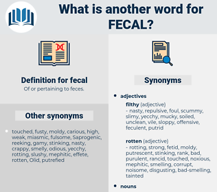fecal, synonym fecal, another word for fecal, words like fecal, thesaurus fecal