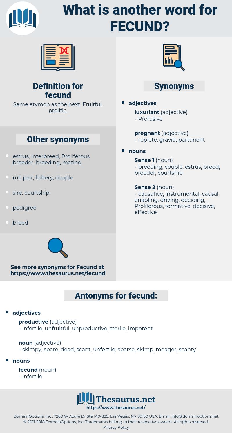 fecund, synonym fecund, another word for fecund, words like fecund, thesaurus fecund
