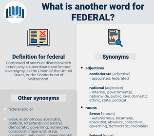 federal, synonym federal, another word for federal, words like federal, thesaurus federal
