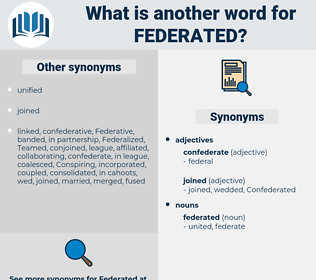 federated, synonym federated, another word for federated, words like federated, thesaurus federated
