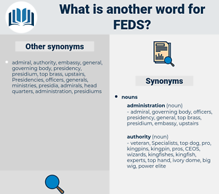 FEDS, synonym FEDS, another word for FEDS, words like FEDS, thesaurus FEDS