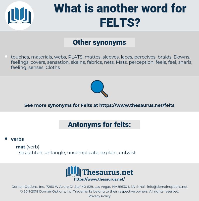 felts, synonym felts, another word for felts, words like felts, thesaurus felts