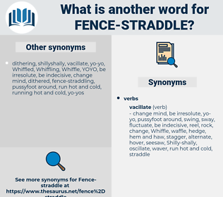 fence-straddle, synonym fence-straddle, another word for fence-straddle, words like fence-straddle, thesaurus fence-straddle