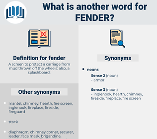 fender, synonym fender, another word for fender, words like fender, thesaurus fender