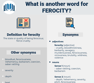 ferocity, synonym ferocity, another word for ferocity, words like ferocity, thesaurus ferocity