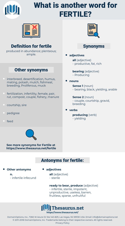 fertile, synonym fertile, another word for fertile, words like fertile, thesaurus fertile