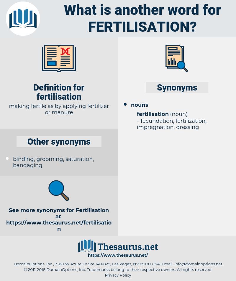 fertilisation, synonym fertilisation, another word for fertilisation, words like fertilisation, thesaurus fertilisation