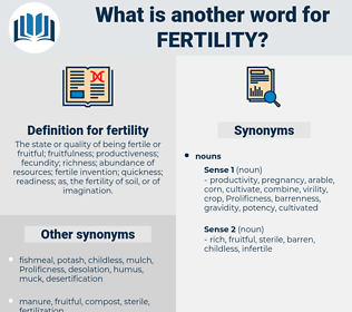 fertility, synonym fertility, another word for fertility, words like fertility, thesaurus fertility