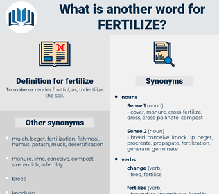 fertilize, synonym fertilize, another word for fertilize, words like fertilize, thesaurus fertilize