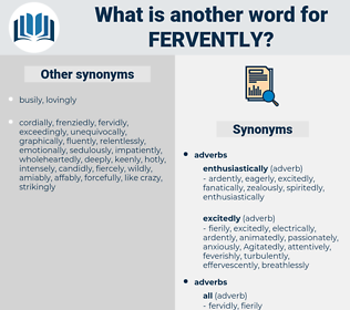 fervently, synonym fervently, another word for fervently, words like fervently, thesaurus fervently