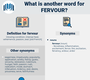fervour, synonym fervour, another word for fervour, words like fervour, thesaurus fervour