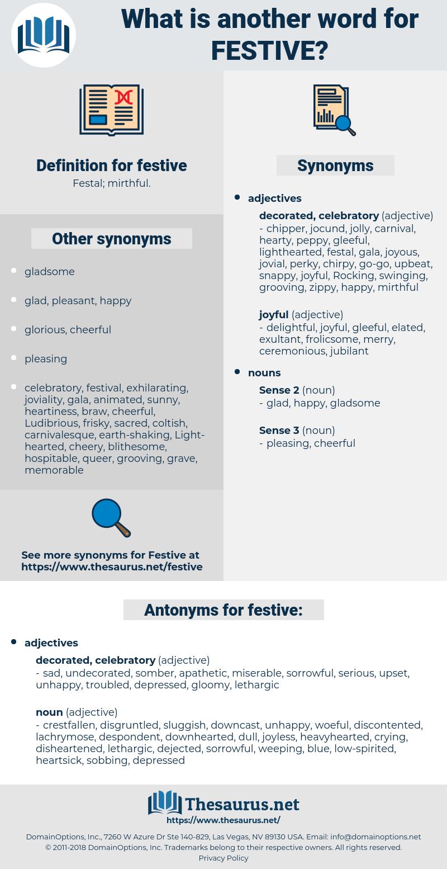 festive, synonym festive, another word for festive, words like festive, thesaurus festive