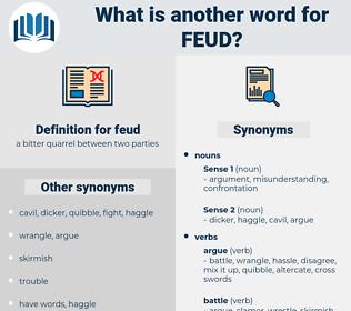 feud, synonym feud, another word for feud, words like feud, thesaurus feud