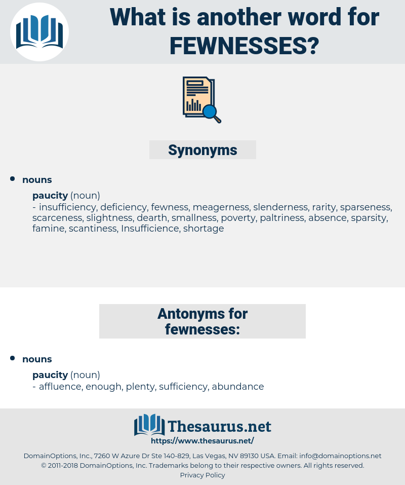 fewnesses, synonym fewnesses, another word for fewnesses, words like fewnesses, thesaurus fewnesses