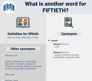 fiftieth, synonym fiftieth, another word for fiftieth, words like fiftieth, thesaurus fiftieth
