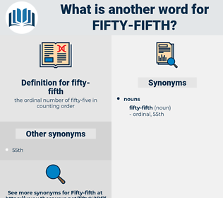 fifty-fifth, synonym fifty-fifth, another word for fifty-fifth, words like fifty-fifth, thesaurus fifty-fifth