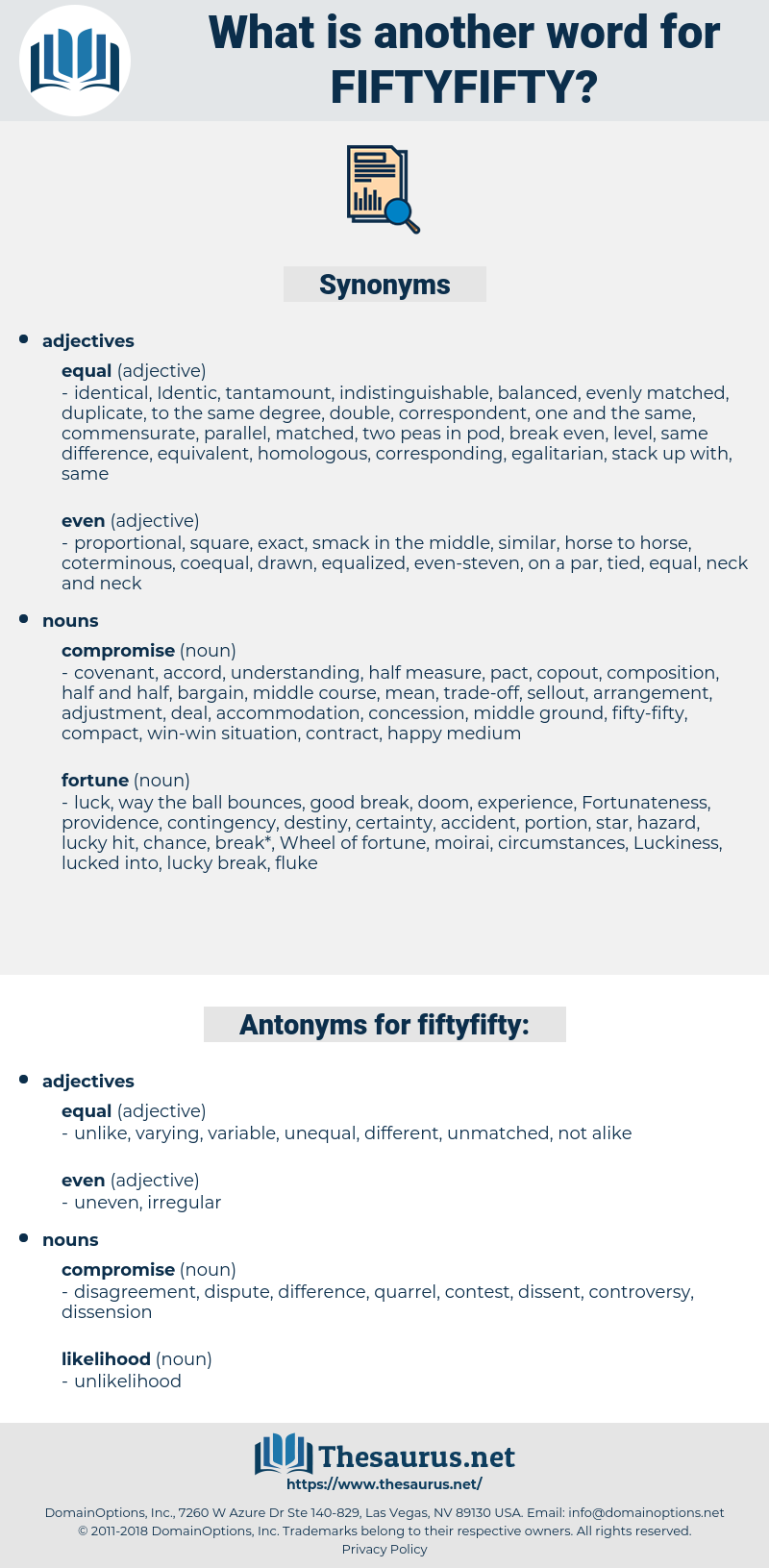 fiftyfifty, synonym fiftyfifty, another word for fiftyfifty, words like fiftyfifty, thesaurus fiftyfifty