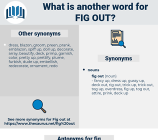 fig out, synonym fig out, another word for fig out, words like fig out, thesaurus fig out