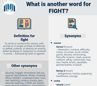 fight, synonym fight, another word for fight, words like fight, thesaurus fight