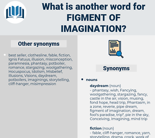 figment of imagination, synonym figment of imagination, another word for figment of imagination, words like figment of imagination, thesaurus figment of imagination
