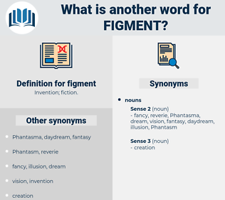 figment, synonym figment, another word for figment, words like figment, thesaurus figment