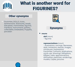 figurines, synonym figurines, another word for figurines, words like figurines, thesaurus figurines