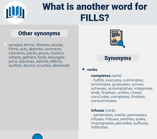 fills, synonym fills, another word for fills, words like fills, thesaurus fills