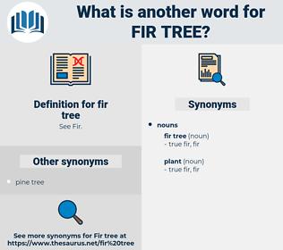 fir tree, synonym fir tree, another word for fir tree, words like fir tree, thesaurus fir tree