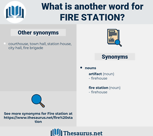 fire station, synonym fire station, another word for fire station, words like fire station, thesaurus fire station