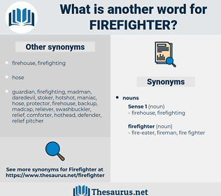 firefighter, synonym firefighter, another word for firefighter, words like firefighter, thesaurus firefighter