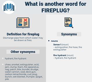 fireplug, synonym fireplug, another word for fireplug, words like fireplug, thesaurus fireplug