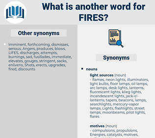 fires, synonym fires, another word for fires, words like fires, thesaurus fires
